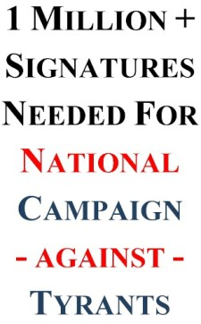 ONE MILLION SIGNITURES - CAUSES 2015
