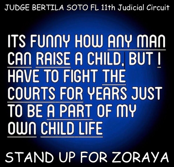 Any man can raise a child but i have to fight in court to raise my own. - 2015 (1)