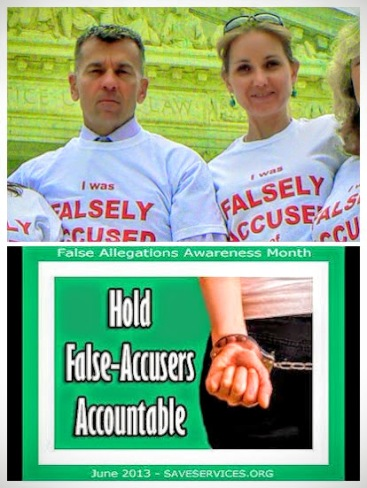 SAVE for Falsely Accused of DV-COLLAGE