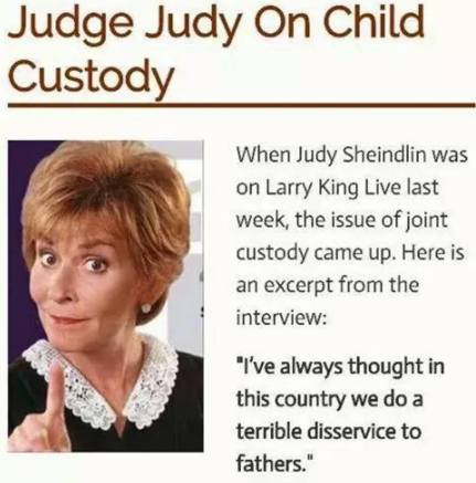 judge judy says