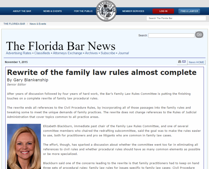 Florida Bar News - Dec 2015