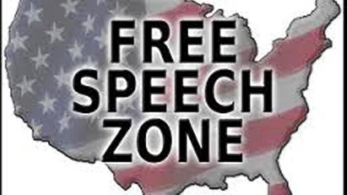 USA free-speech zone - 2016